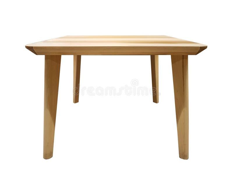 Table en bois moderne photo stock
