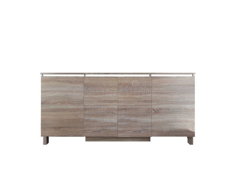 Table en bois traditionnelle pour tenir vos produits photographie stock
