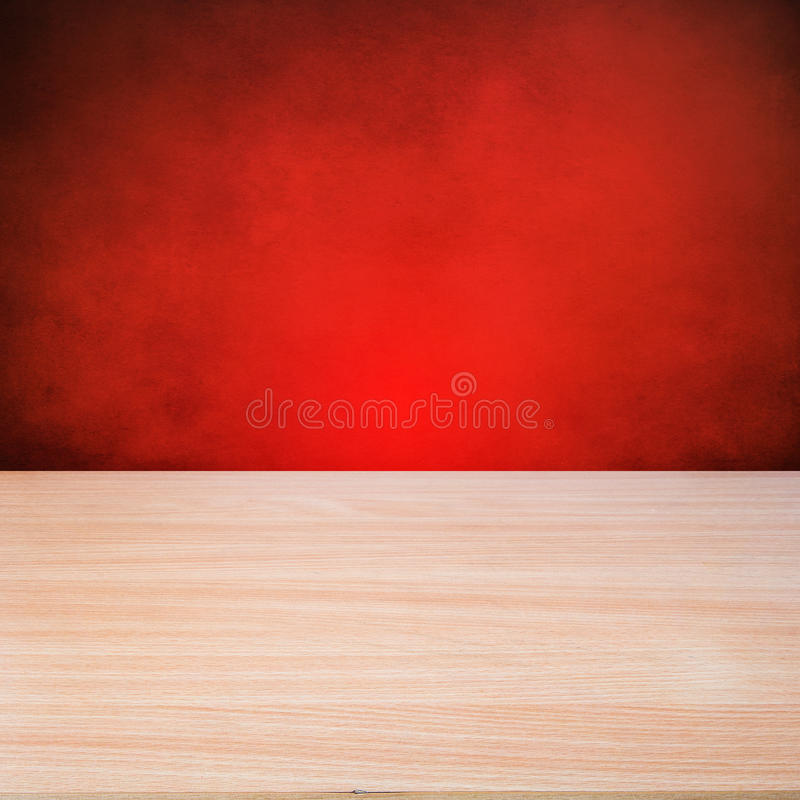 Table en bois vide image stock