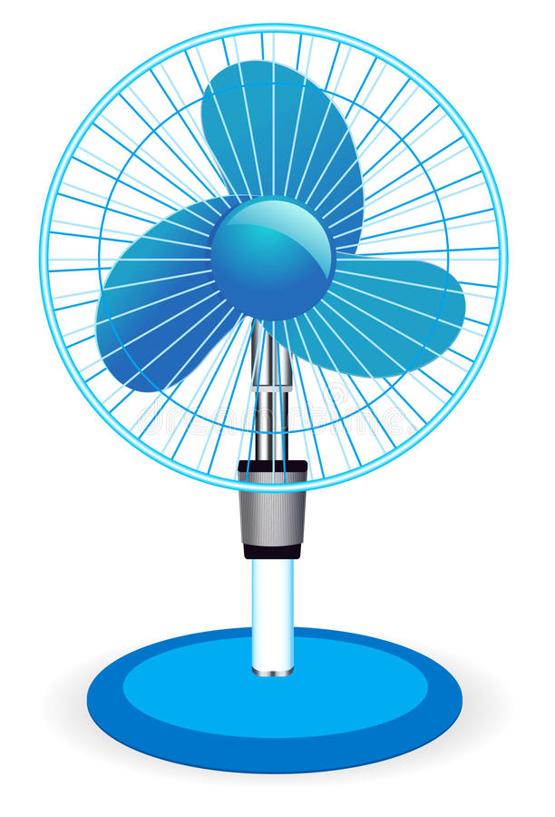 Table Fan Illustration Stock Vector Image Of Propeller
