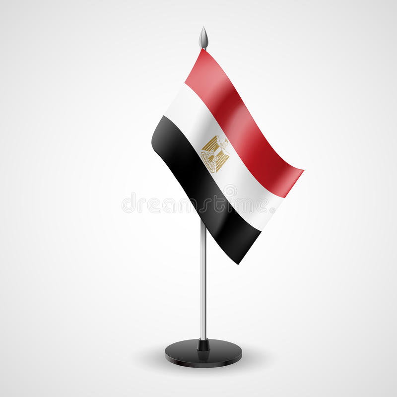 Table Flag Of Egypt Stock Vector Illustration Of Government 38582398