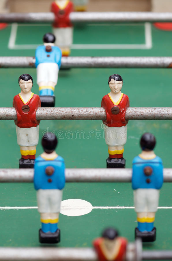Table football royalty free stock photos