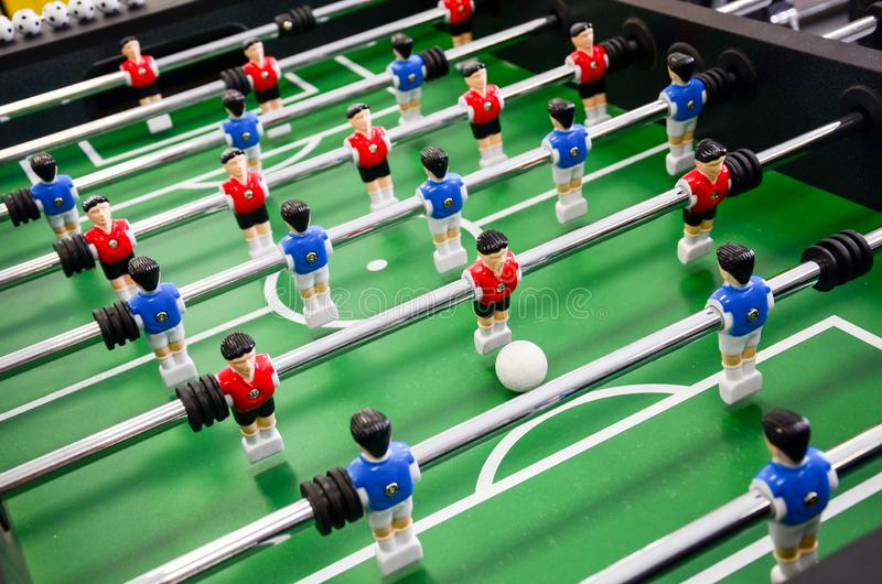 Table football, foosball royalty free stock images