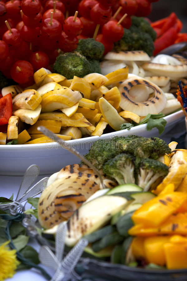 Table full of vegetables royalty free stock photography