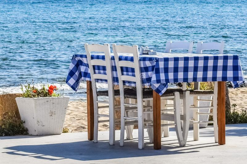 Table, Furniture, Outdoor Furniture, Water royalty free stock photo