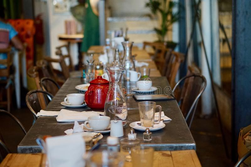 Table, Furniture, Restaurant, Brunch royalty free stock photo