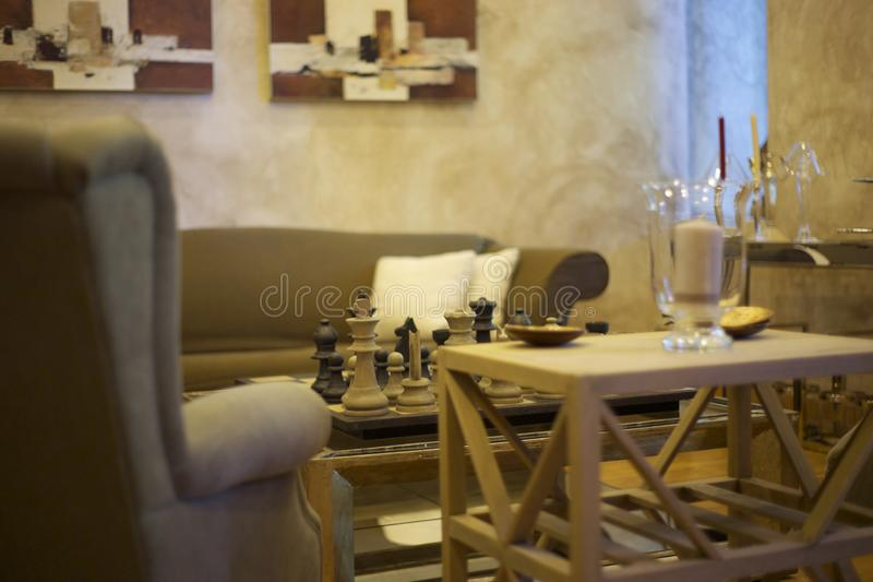 Table, Furniture, Room, Interior Design stock image