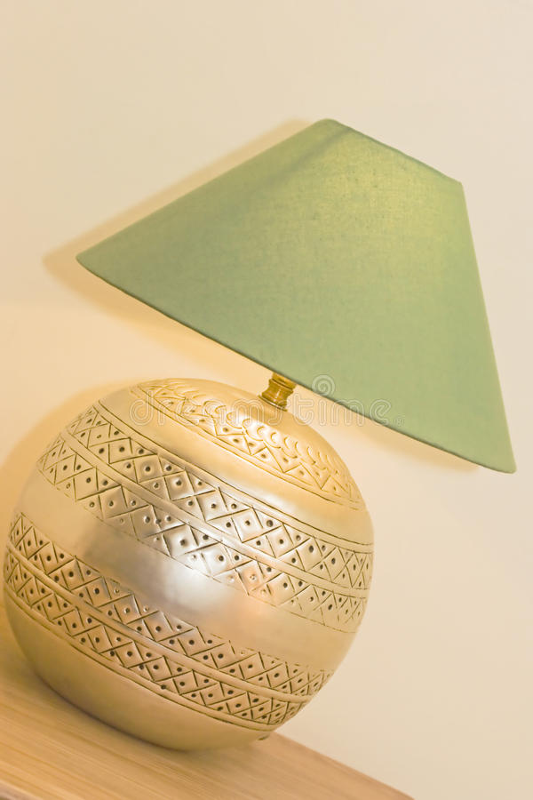 Download Table lamp stock image. Image of indoors, lighted, metal - 17079755