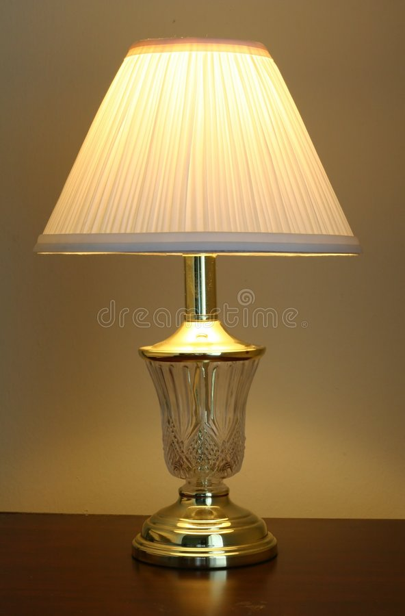 Table Lamp stock image