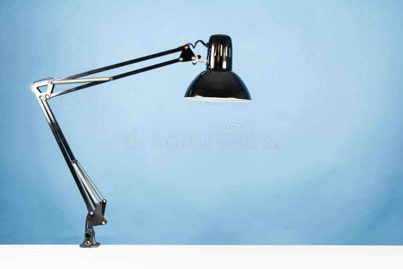 A table lamp stock photography