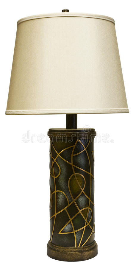 Download Table Lamp with Shade stock photo. Image of furnishings - 9379240