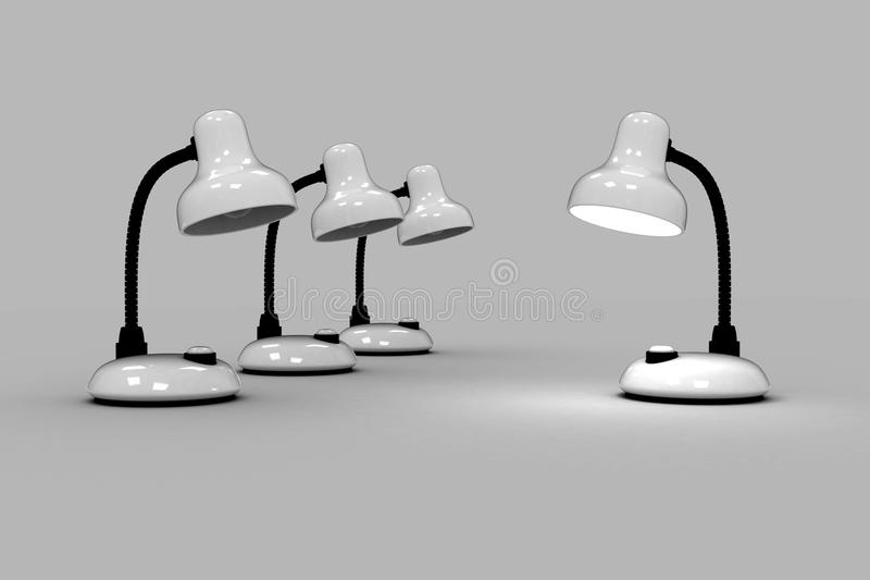 Download Table Lamps Royalty Free Stock Photos - Image: 11065298