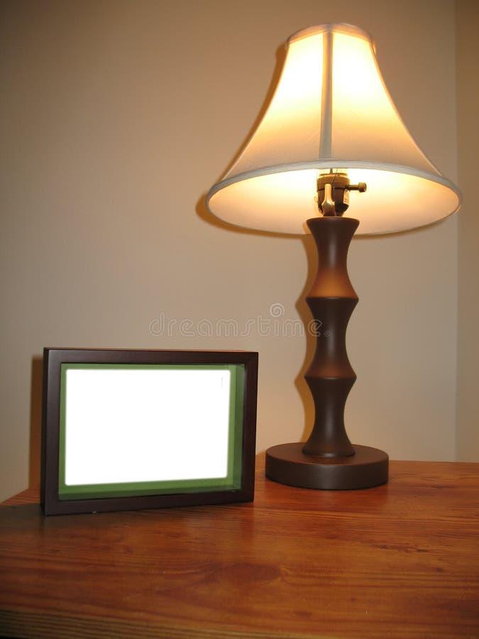 Table latérale photo stock