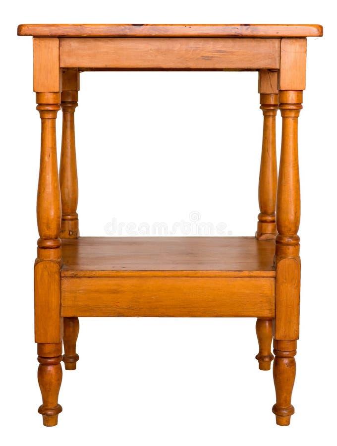 Table latérale de bâti photo libre de droits