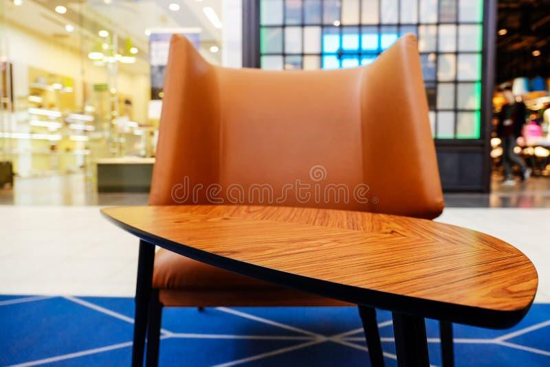 table moderne de café photo libre de droits
