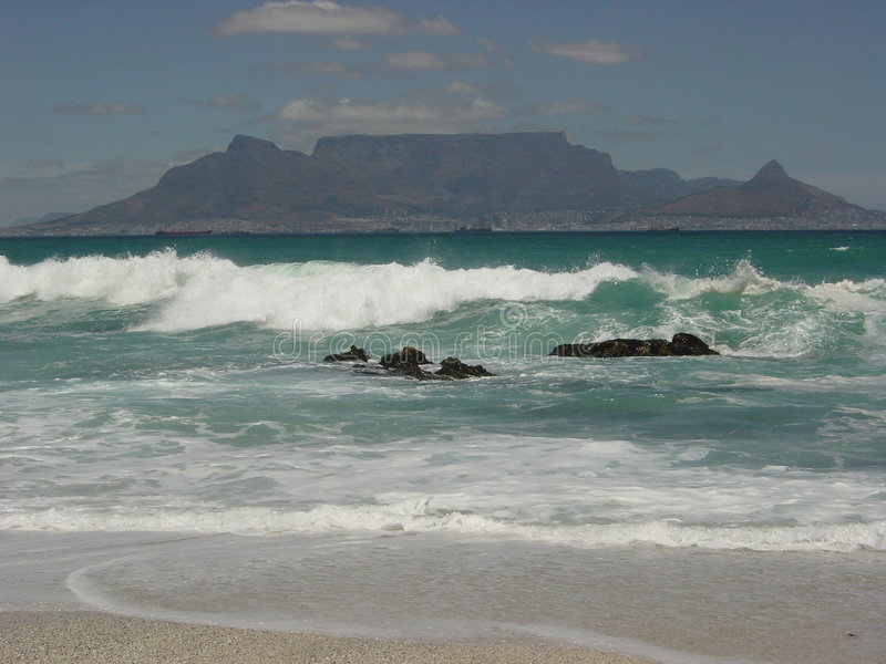 Download Table Mountain stock image. Image of blue, distant, peace - 195675