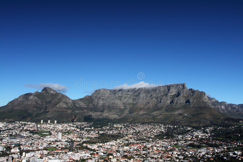 Download Table Mountain stock image. Image of green, nature, africa - 7232205