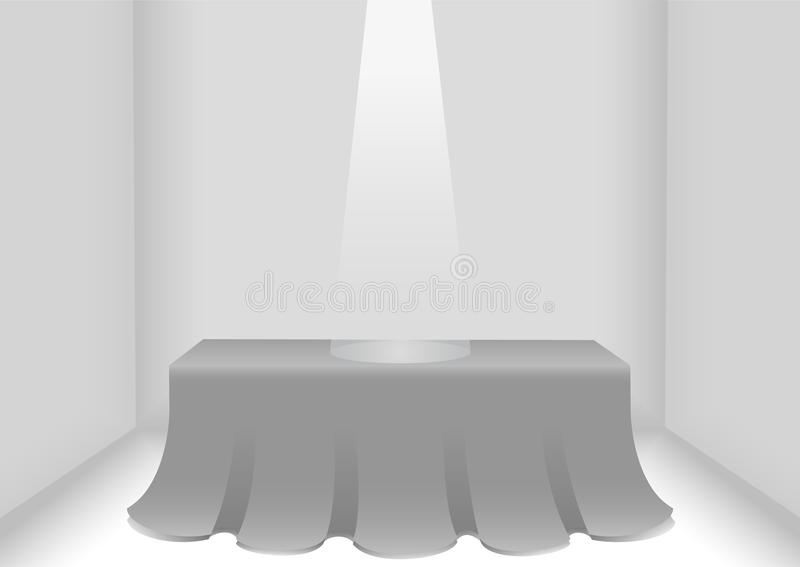 Download Table museum stock vector. Image of decorations, living - 19246411