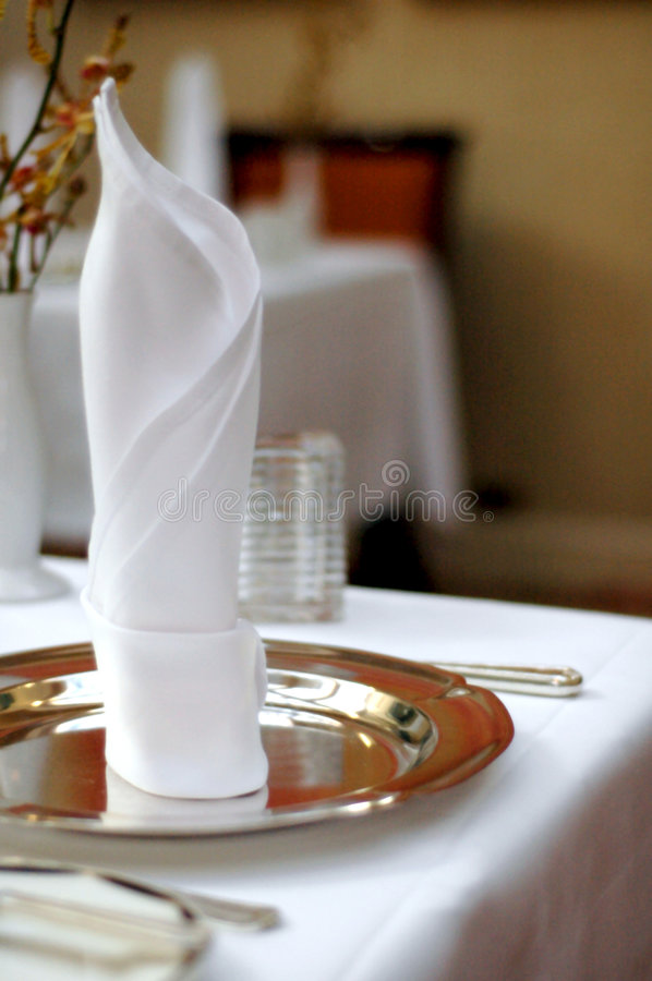 Table napkin stock photos