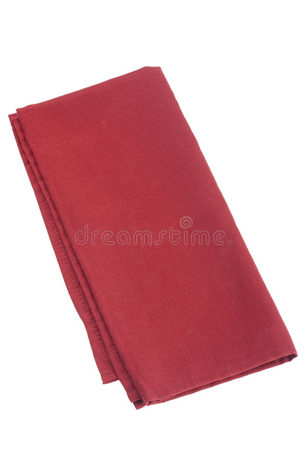 Table Napkins Stock Photo