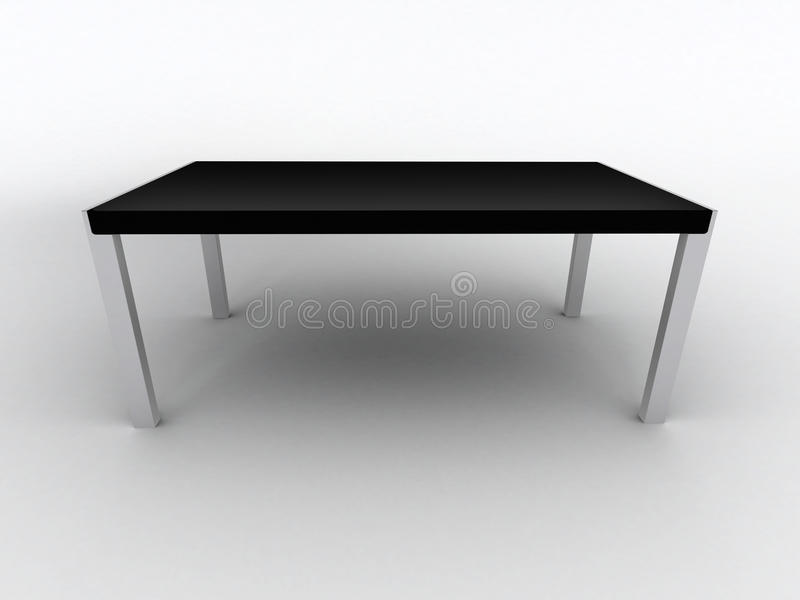 Table noire illustration libre de droits