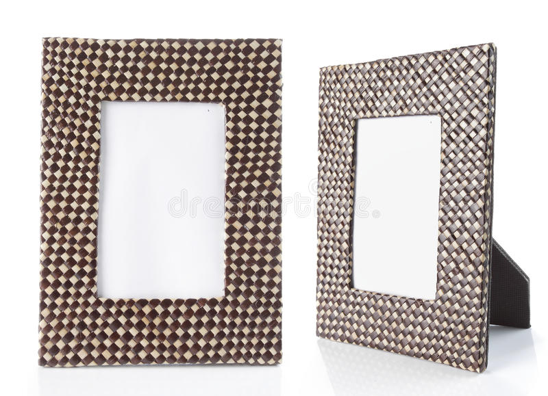 Table photo frame royalty free stock images