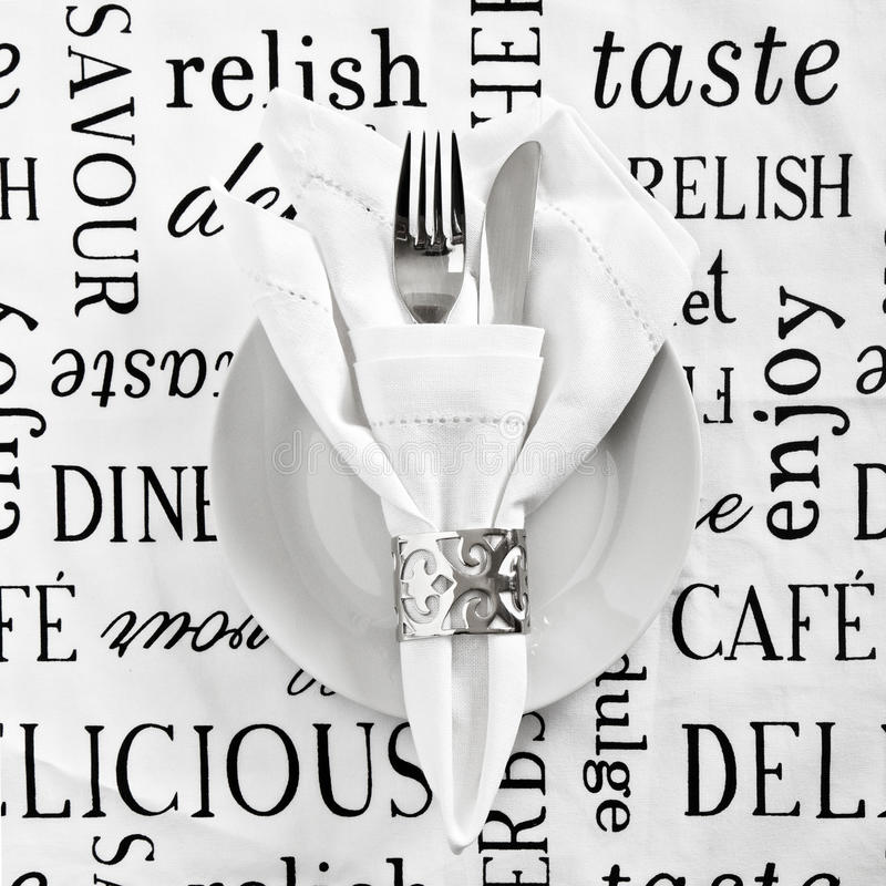 Free Table Place Setting Stock Image - 22499201
