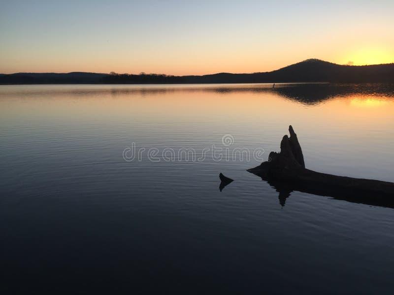 Table Rock Lake Sunrise stock photos