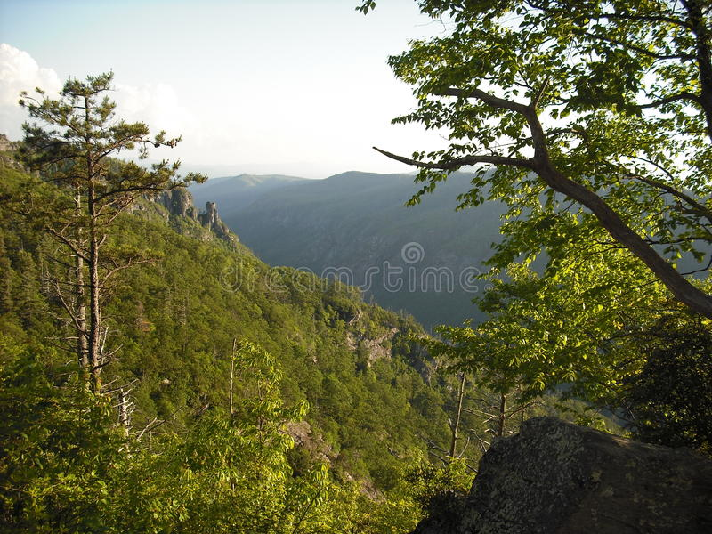 Table Rock view 4 stock photo