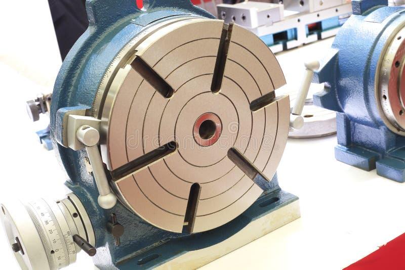 Table rotatoire d'équipement industriel  image stock