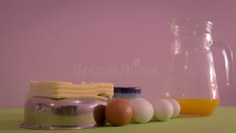 Table servie pour le petit-déjeuner de l'après-midi 06 photos libres de droits