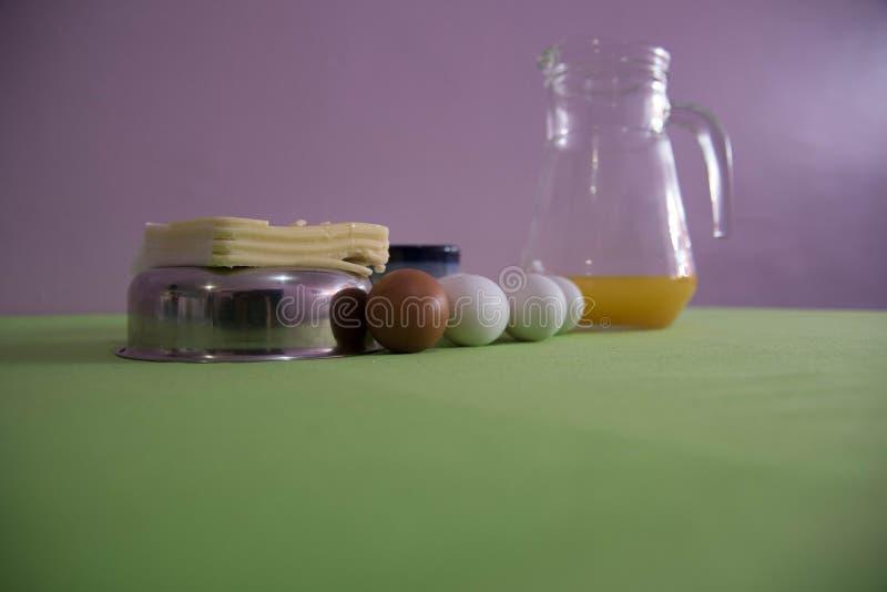 Table servie pour le petit-déjeuner de l'après-midi 07 photos libres de droits