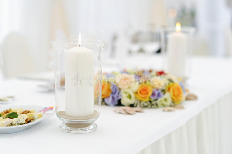 Download Table Set For An Event Party Stock Image - Image: 15959871