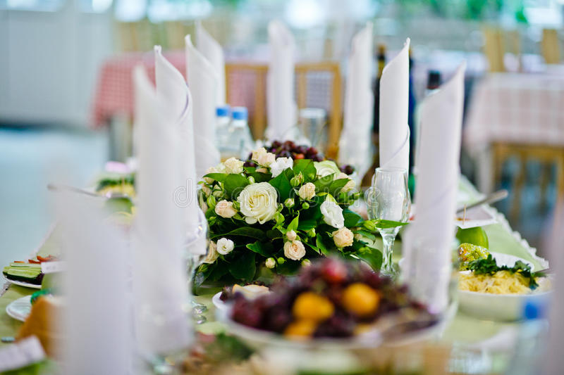 Download Table Set For An Event Party Stock Photo - Image: 21980802