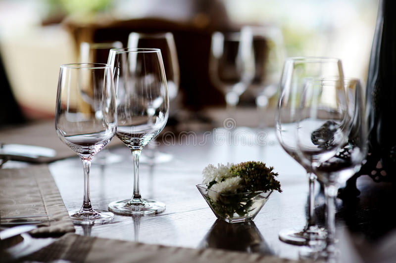 Download Table Set For An Event Party Stock Image - Image: 22268501
