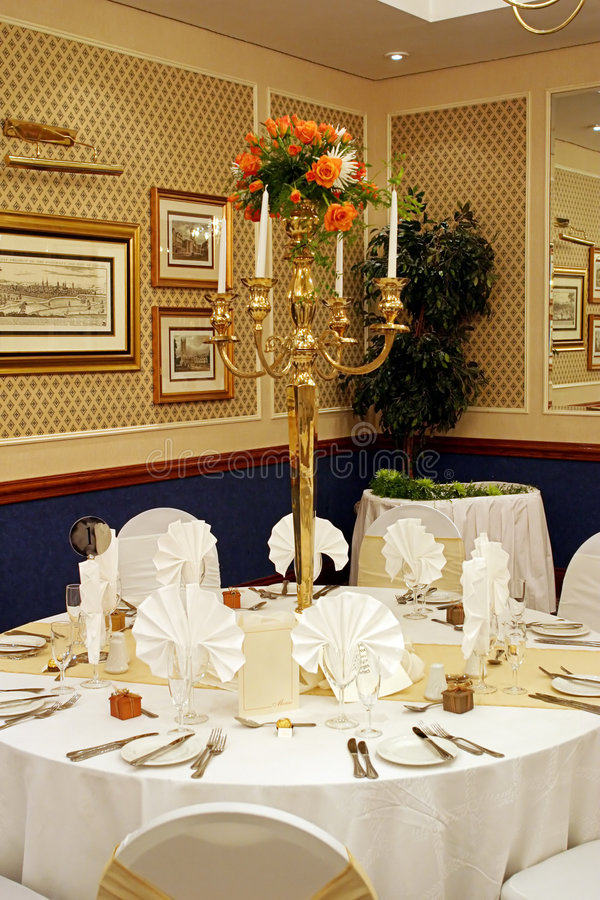 Table setting # 2 royalty free stock photography