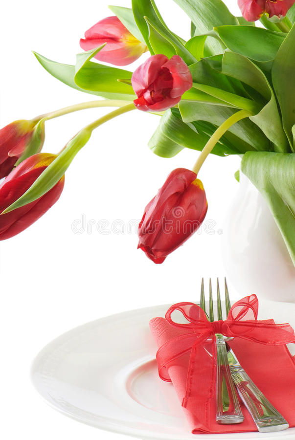 Download Table setting stock photo. Image of flower, knife, bright - 23395658