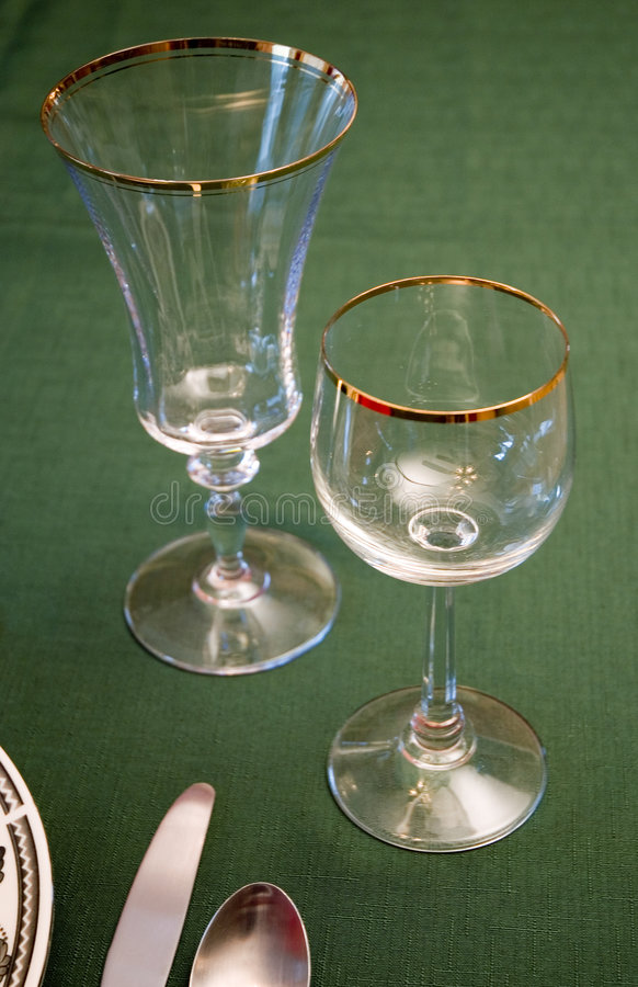 Download Table Setting stock photo. Image of glasses, cloth, table - 252678