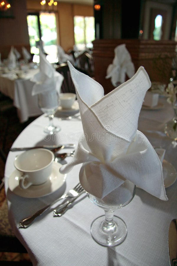 Download Table Setting stock image. Image of napkin, reception, glass - 488505