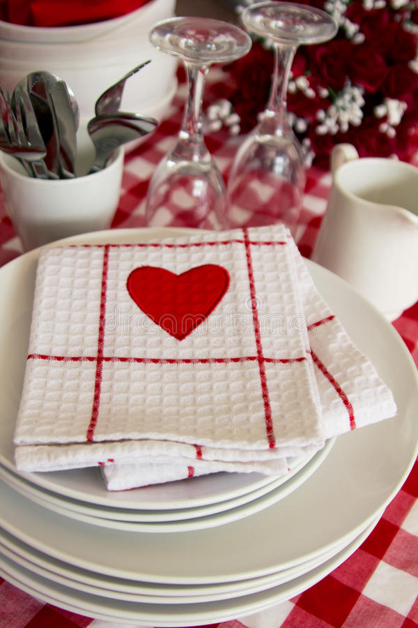 Download Table Setting For Lovers Stock Images - Image: 18648364