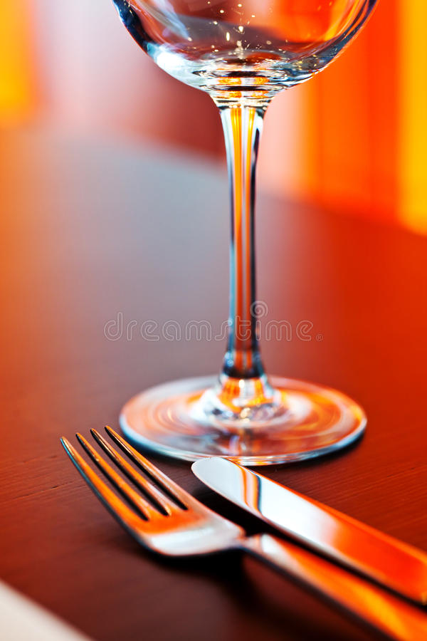 Free Table Setting With Glass Stock Photography - 16021712