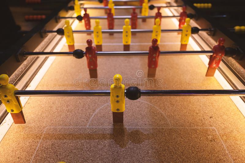 Table Soccer Details royalty free stock images