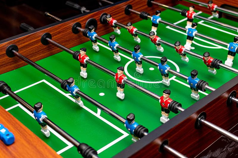 Table soccer game royalty free stock image