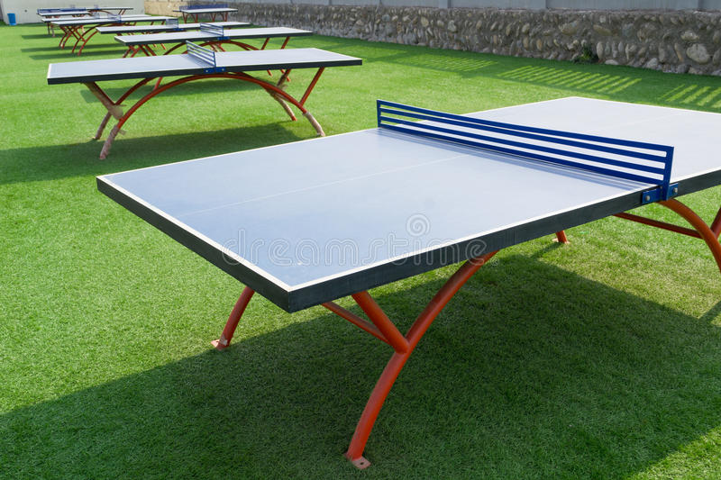 Download Table tennis stock image. Image of outdoor, nobody, sports - 19054317