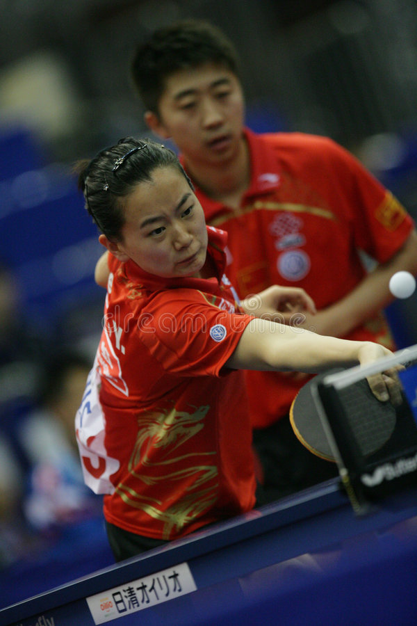 Download Table Tennis editorial stock photo. Image of sport, player - 9187388