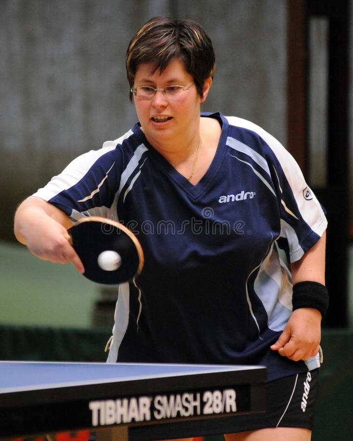 Download Table tennis action editorial stock photo. Image of playing - 14446373