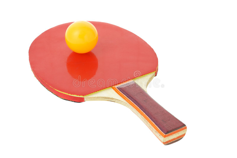 Download Table tennis bat and ball stock photo. Image of white - 7280450