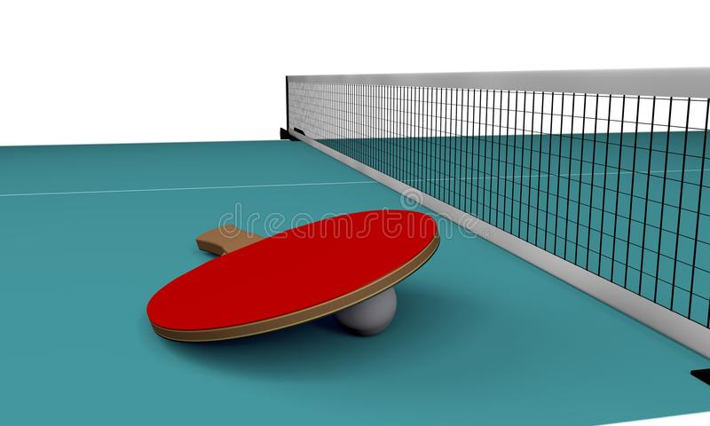 Download Table tennis stock illustration. Image of leisure, entertainment - 31306153