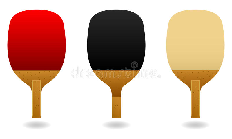 Download Table Tennis Pen Hold Paddle Bat Vector Stock Vector - Image: 14391847