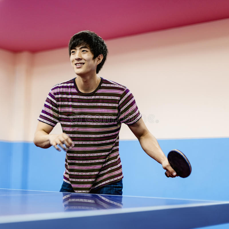 Table Tennis Ping-Pong Sport Activity Concept stock image